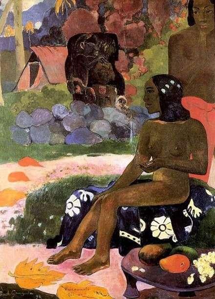 Nazywa się Wahrumati   Paul Gauguin