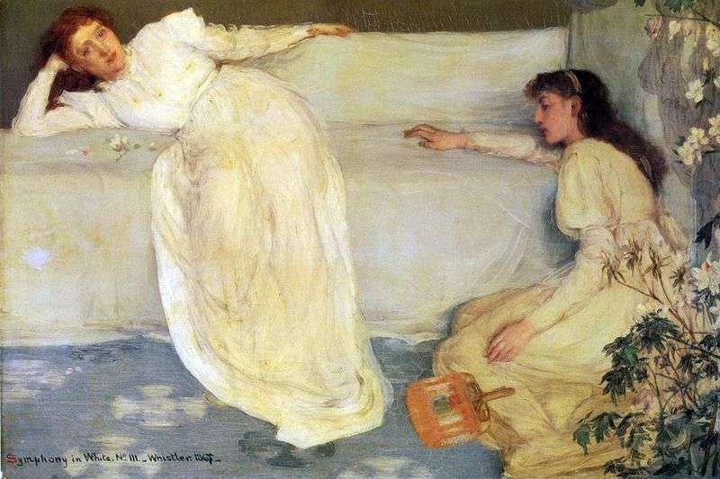 Symfonia w kolorze białym nr 3   James Whistler
