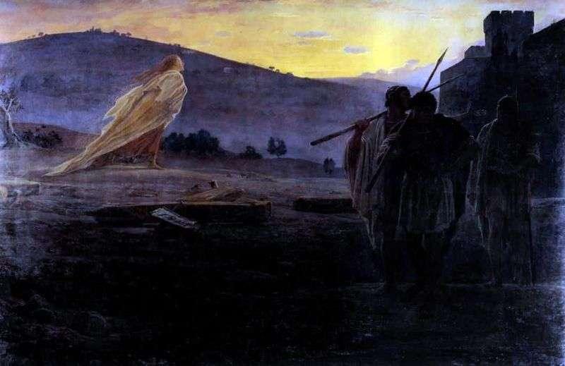 Posłańcy Zmartwychwstania   Nikołaj Ge