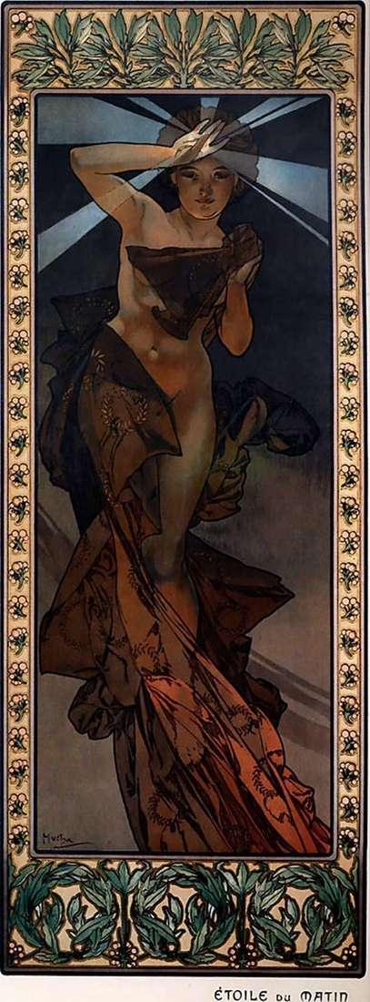 Gwiazda poranna   Alphonse Mucha