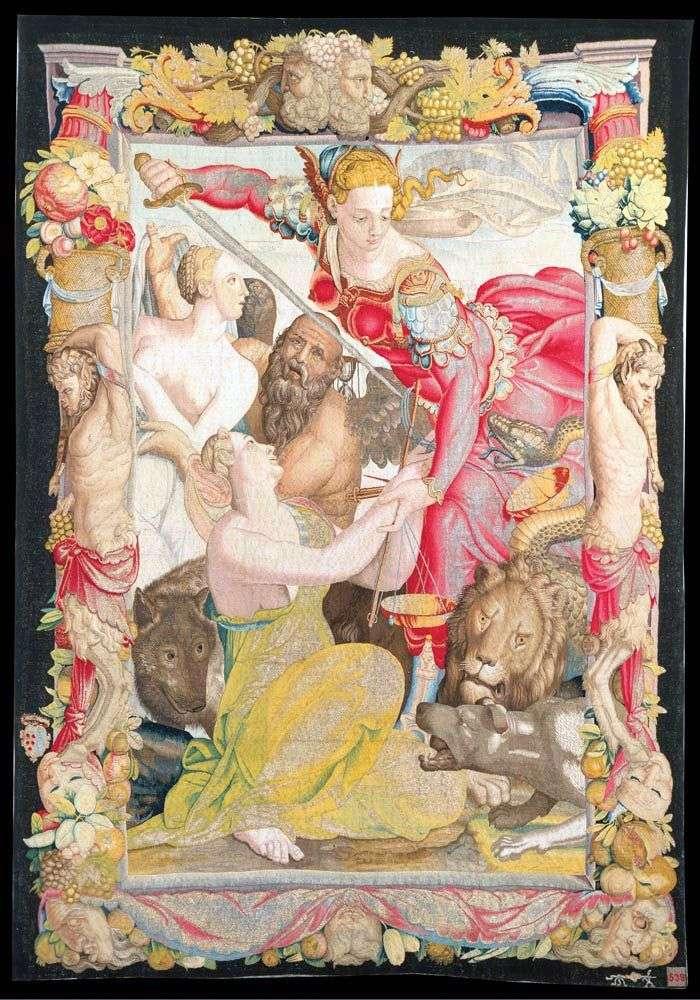 Justice Liberating Innocence   Agnolo Bronzino
