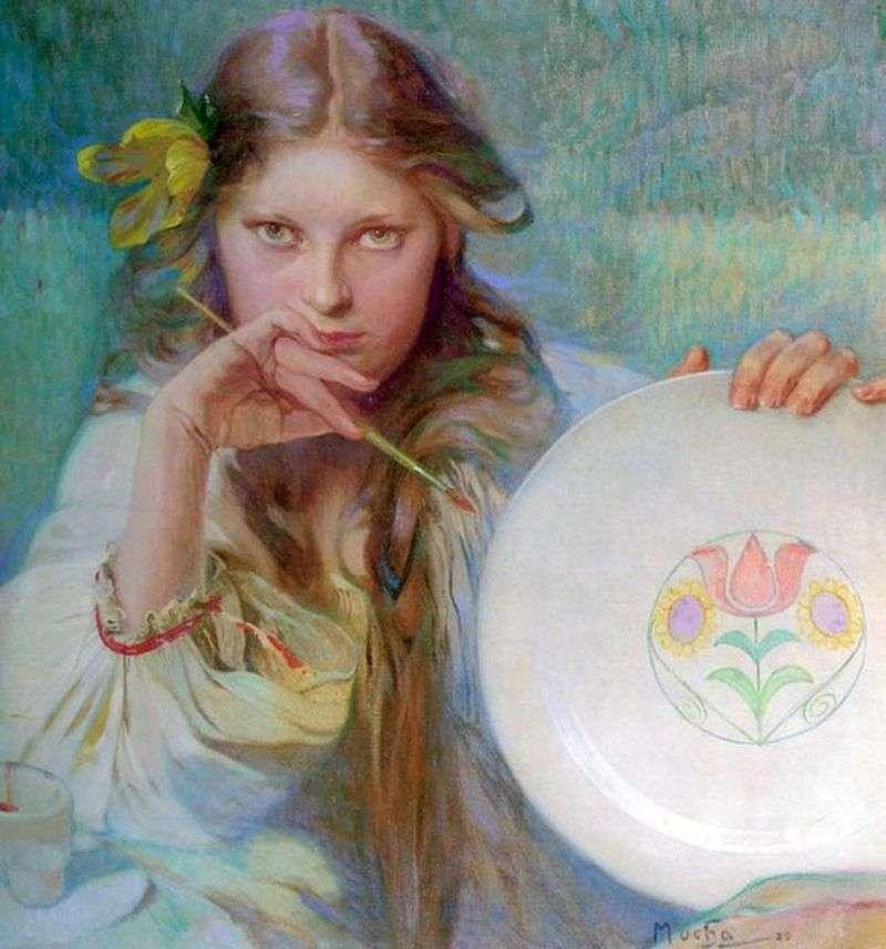Artysta   Alphonse Mucha