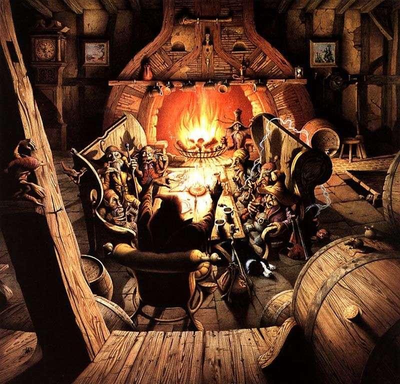 Goblin Beer   Rodney Matthews