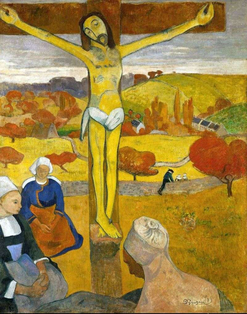 Żółty Chrystus   Paul Gauguin