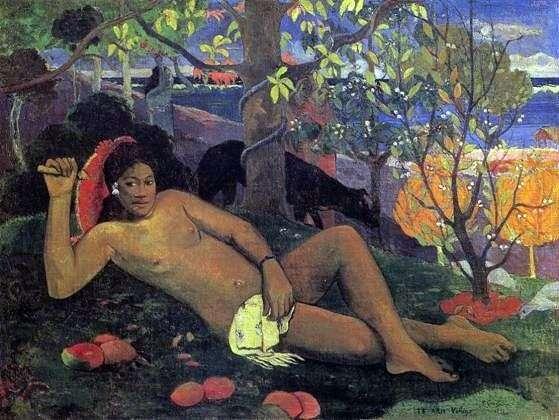 Żona króla   Paul Gauguin