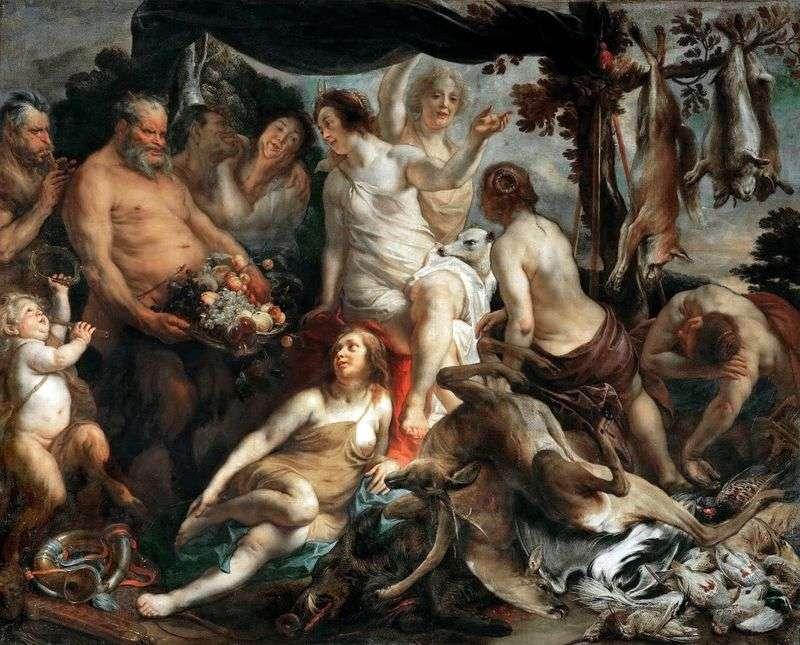 Dianas Rest   Jacob Jordaens