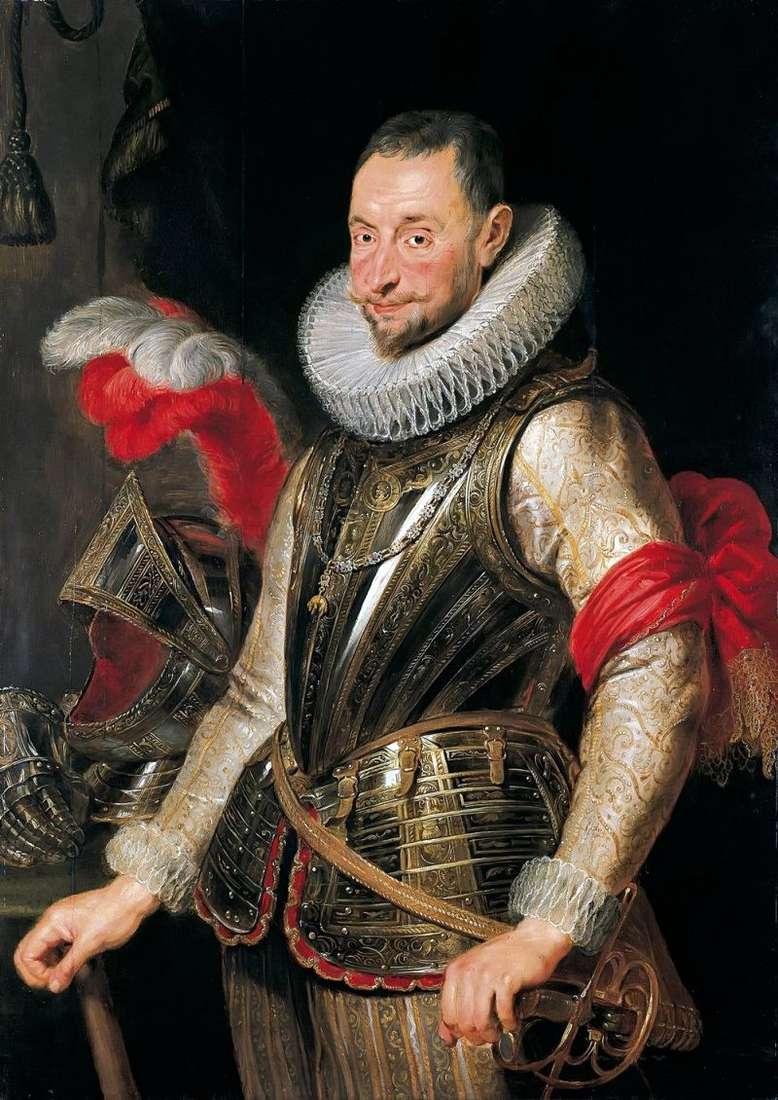 Portret A. Spinola   Peter Rubens