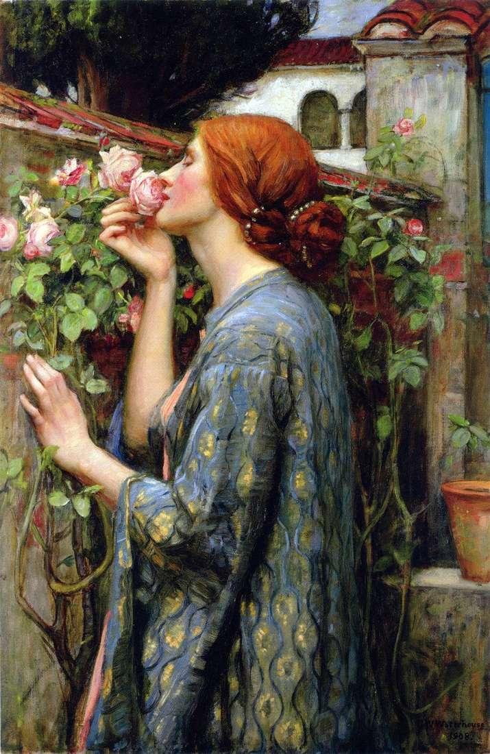 Moją ulubioną różą jest John Waterhouse