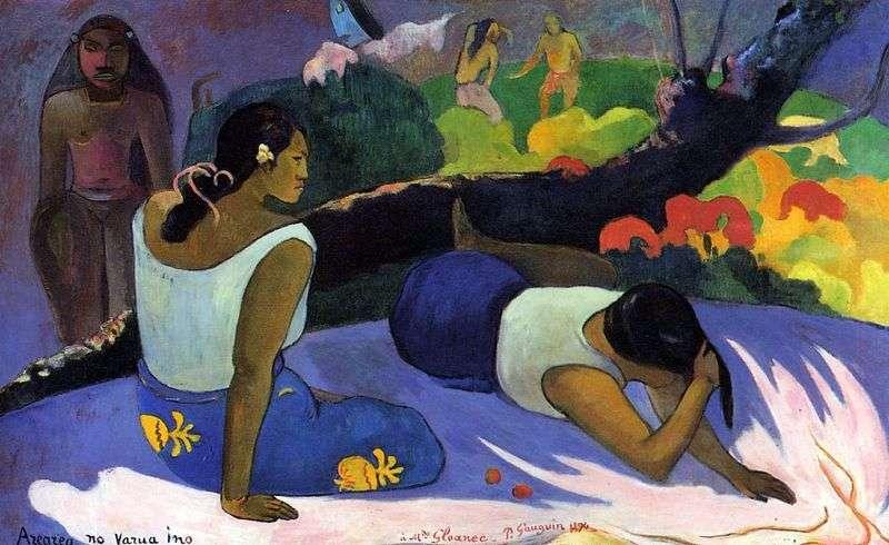 Zabawa złego ducha   Paul Gauguin