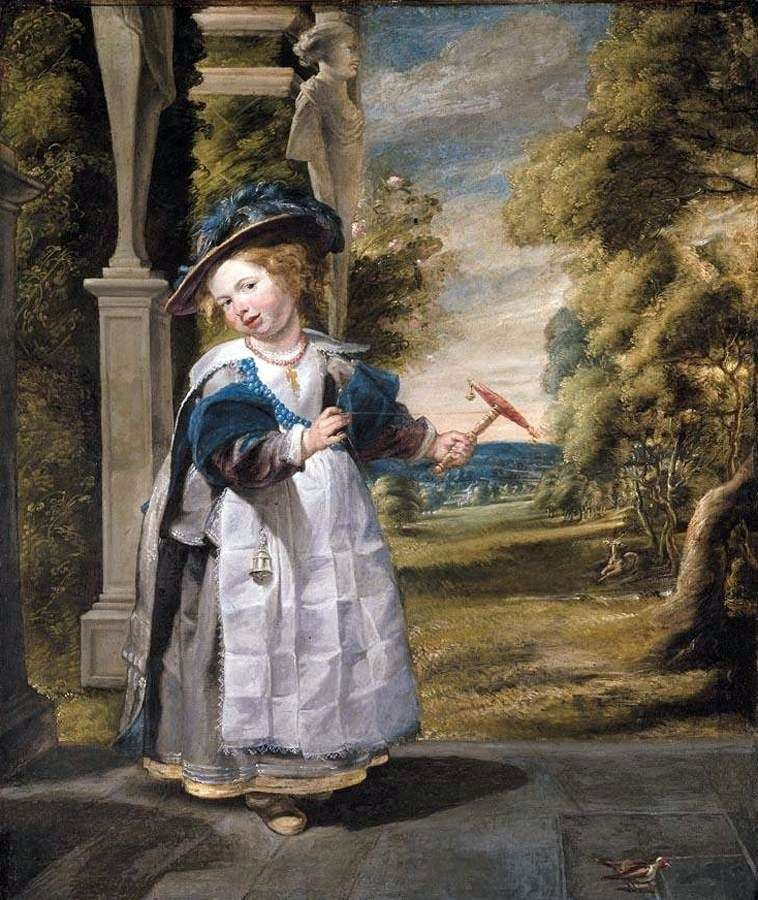 Portret córki artysty   Jacob Jordaens