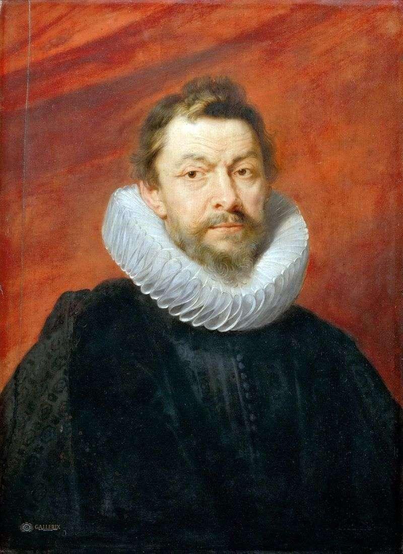 Portret barona Henry de Vick   Peter Rubens