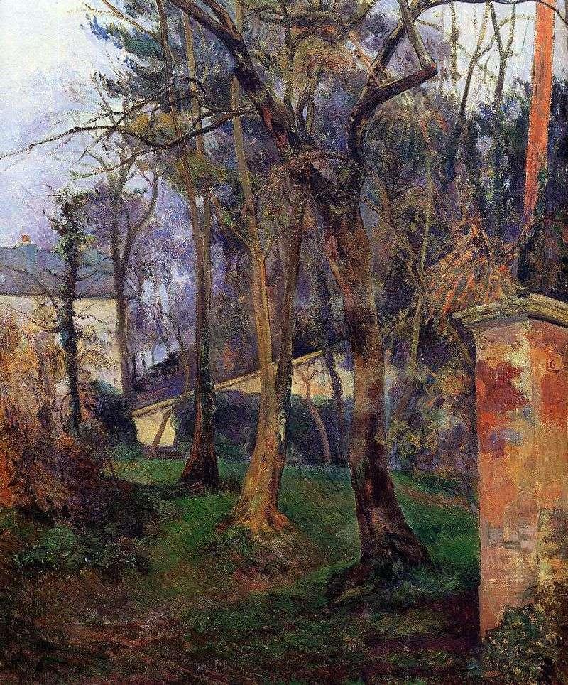 Opuszczony ogród   Paul Gauguin