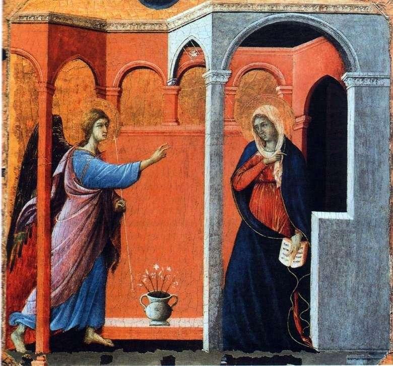 Maestas Zwiastowanie   Duccio di Buoninsegna