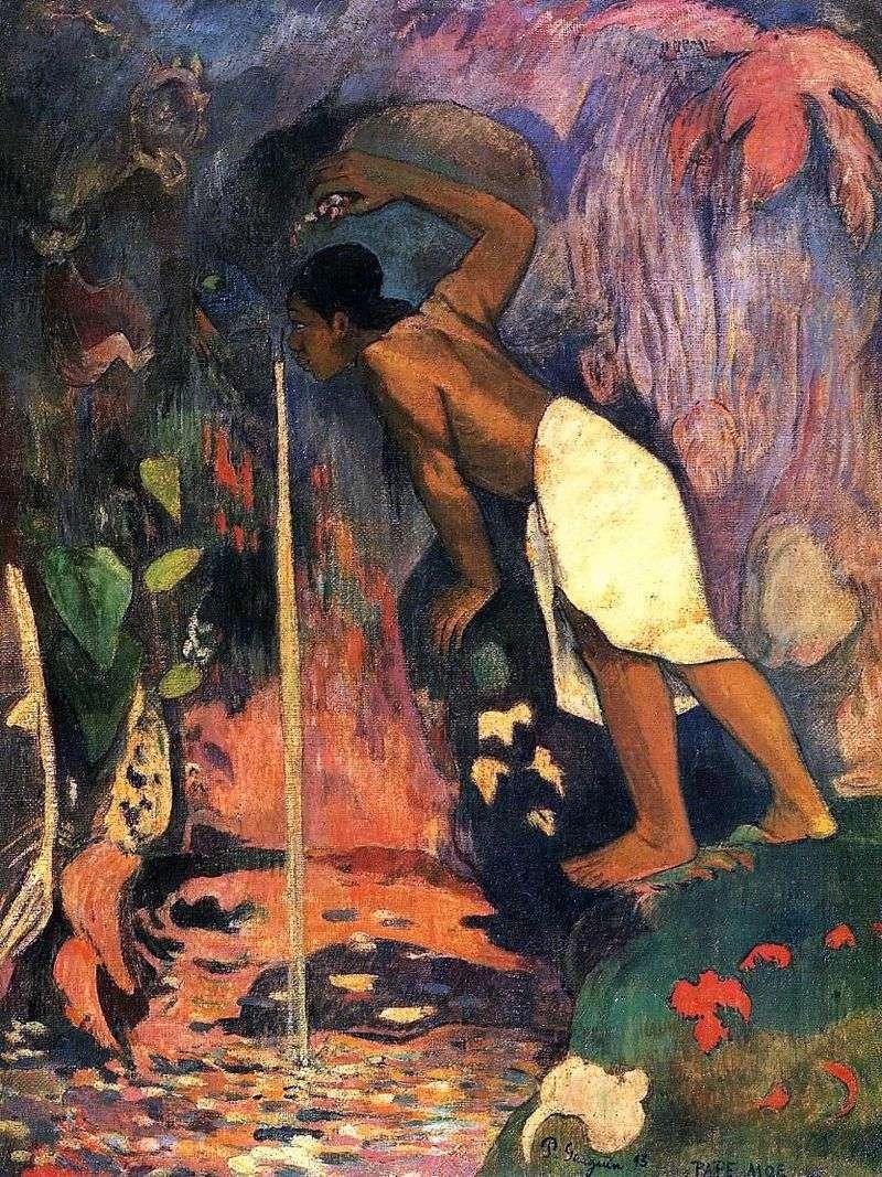 Tajemnicza woda (tajemnicze źródło)   Paul Gauguin
