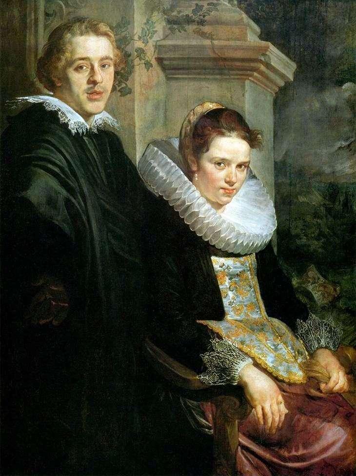 Portret młodej pary   Jacob Jordaens