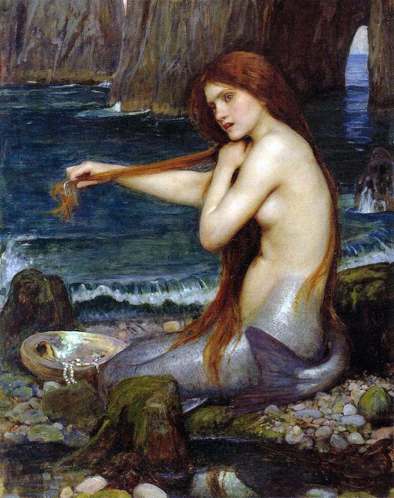 Syrenka   John William Waterhouse