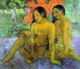 Złoto ich ciał   Paul Gauguin