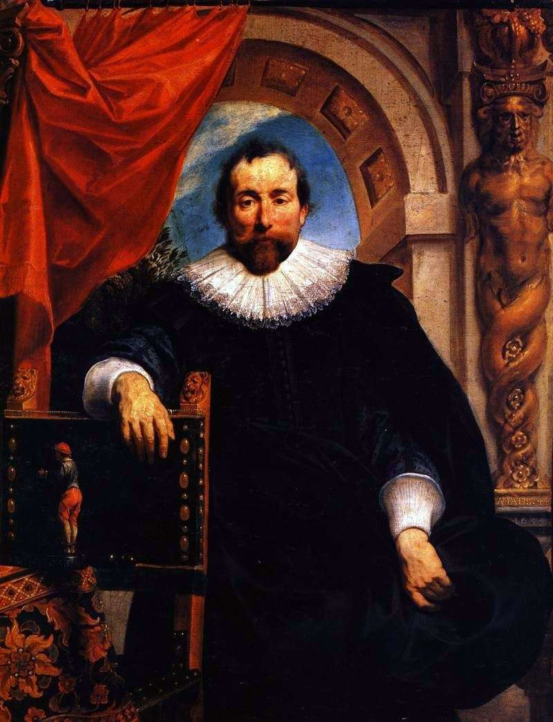 Portret Rutgera Le Wheeter   Jacoba Jordaensa