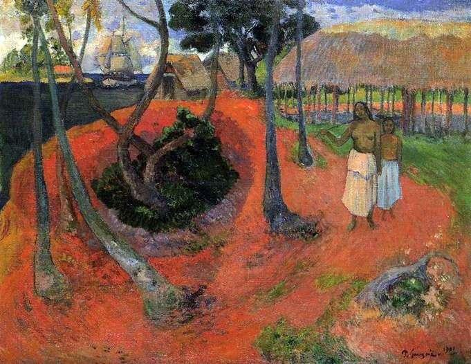 Sielanka na Tahiti   Paul Gauguin