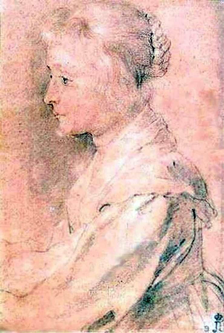 Portret córki Balthazara Gerbiera   Petera Rubensa