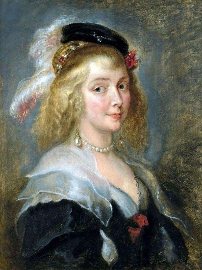 Portret Elena Furman   Peter Rubens