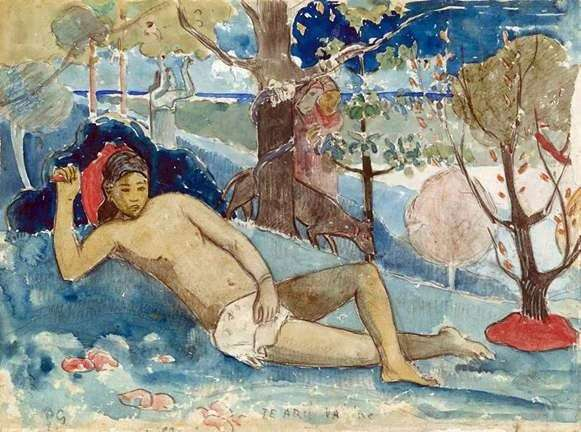 Królowa piękności   Paul Gauguin