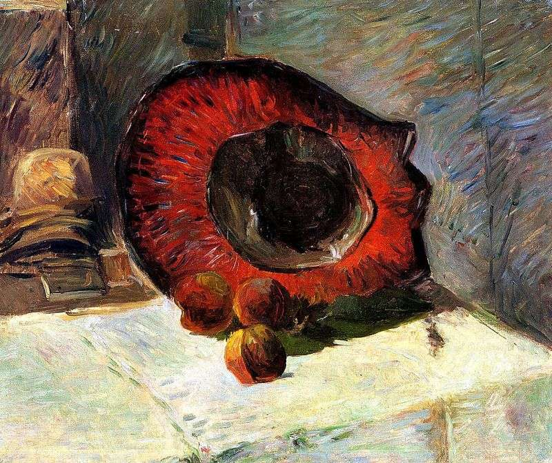 Red Hat and Fruit   Paul Gauguin