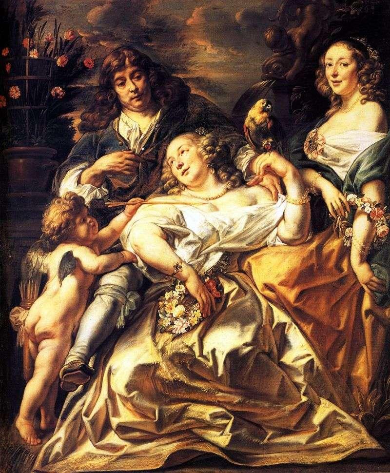 Portret rodzinny   Jacob Jordaens