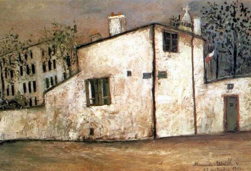 Dom Berlioza   Maurice Utrillo