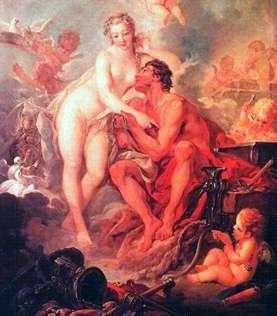 Wenus i wulkan   Francois Boucher