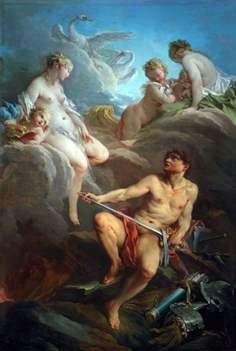 Wenus i Vulcan z bronią dla Eneaszów   Francois Boucher