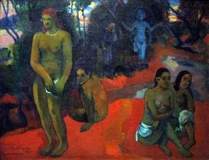 Nęcące Wody   Paul Gauguin