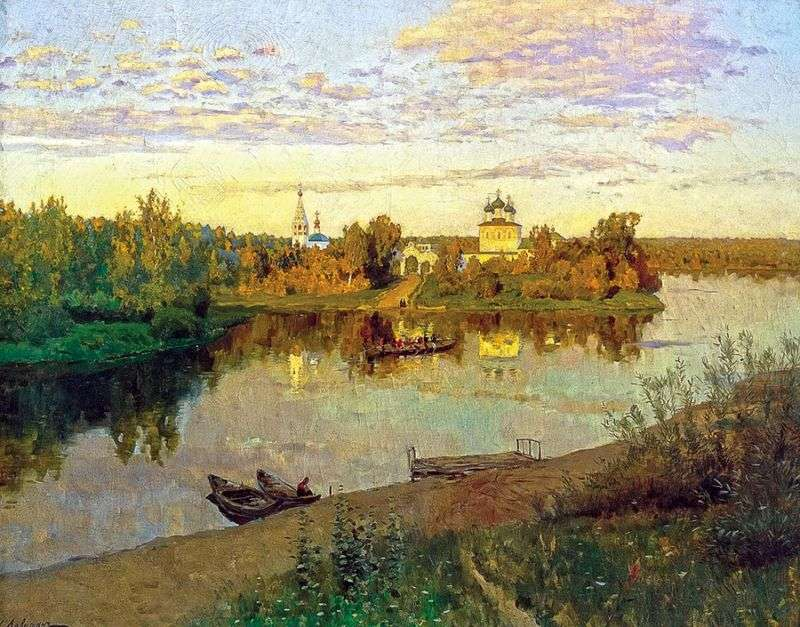 Evening Bells   Isaac Levitan