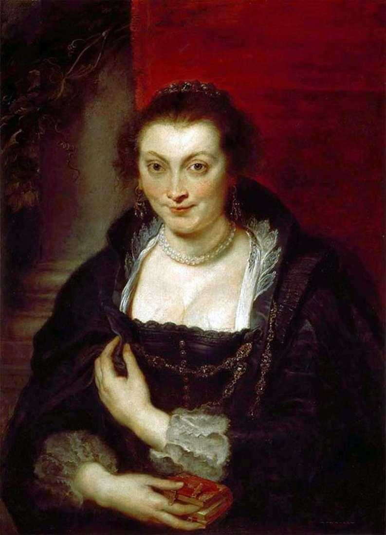 Portret Isabelli Brant   Peter Rubens