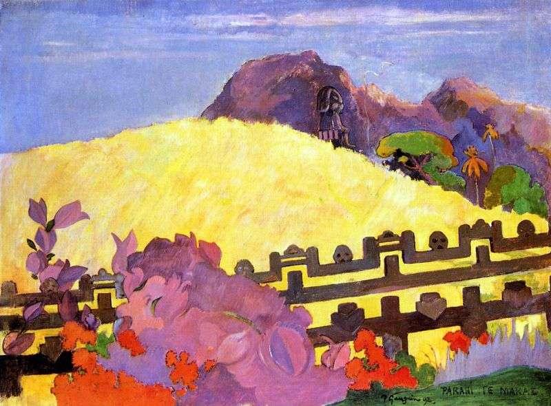 Marae   Paul Gauguin