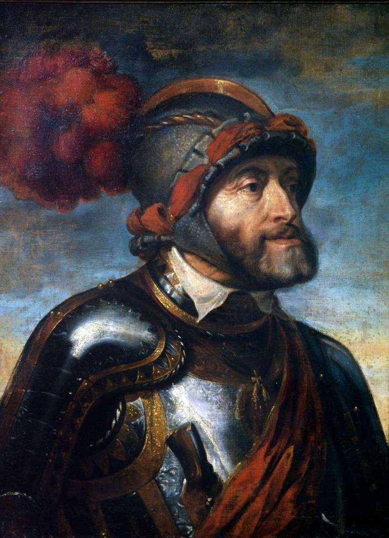 Portret cesarza Karola V   Petera Rubensa