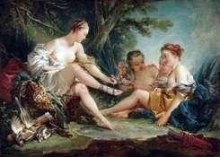 Diana po polowaniu   Francois Boucher