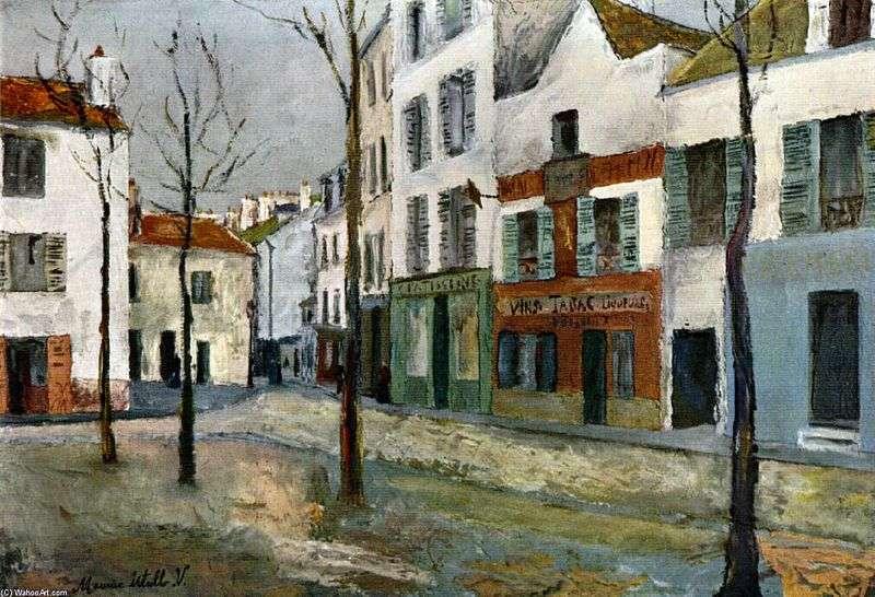 Tertre Square   Maurice Utrillo