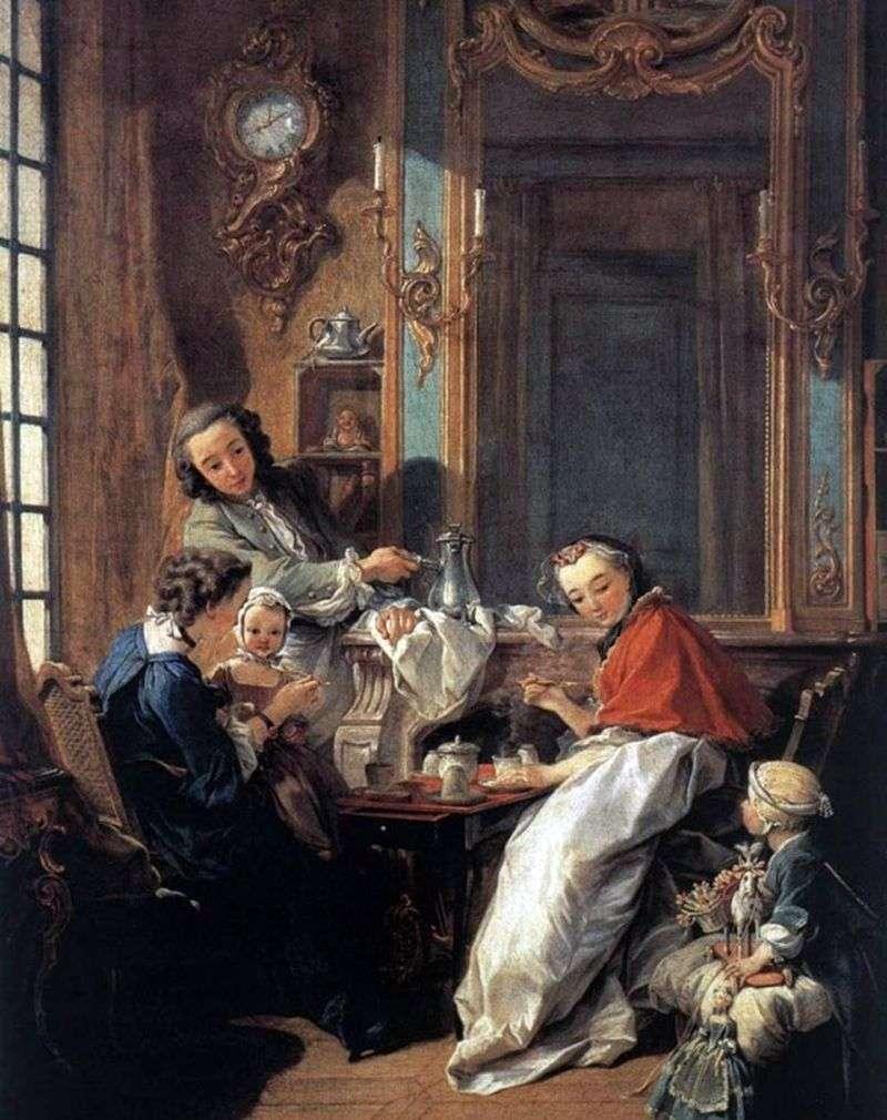 Śniadanie   Francois Boucher