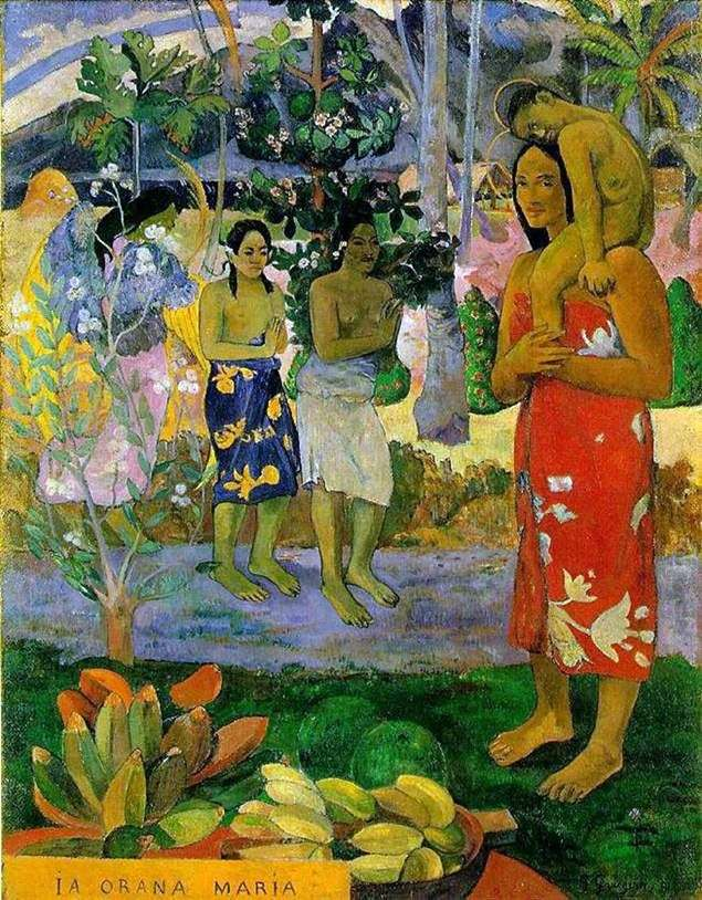 Witamy Cię, Maria   Paul Gauguin