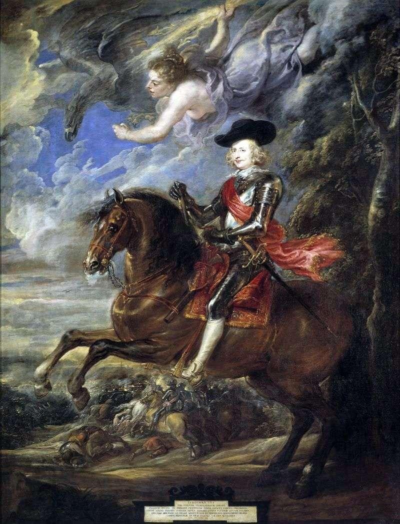Portret kardynała Infante Ferdinanda   Petera Rubensa