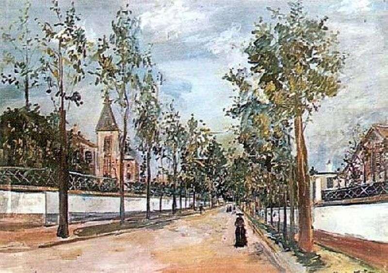 Ulica wojewódzka   Maurice Utrillo