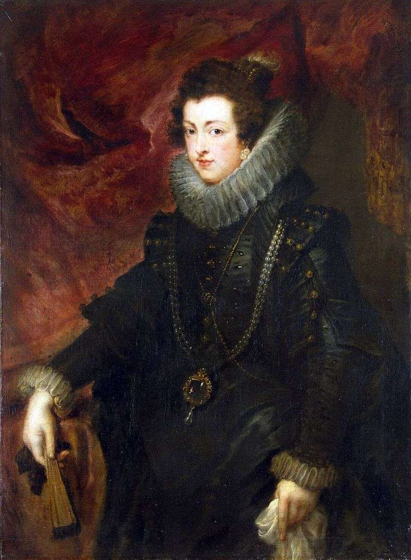 Portret królowej Elizabe   Peter Rubens