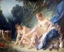 Kąpiel Diana   Francois Boucher