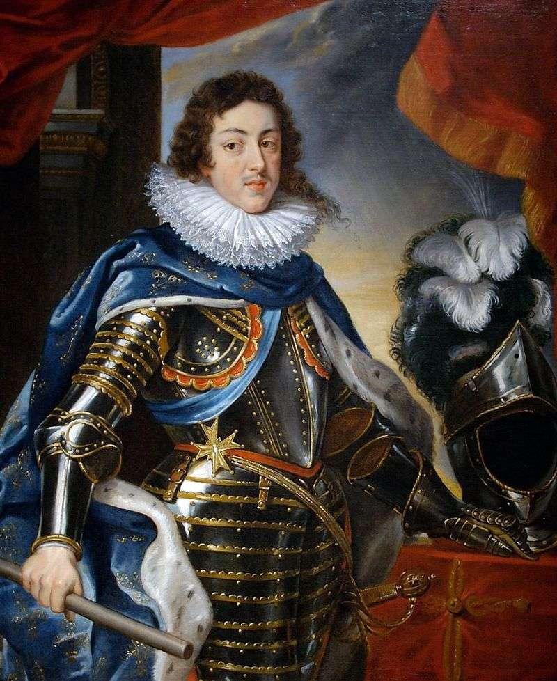 Portret Ludwika XIII, król Francji   Peter Rubens