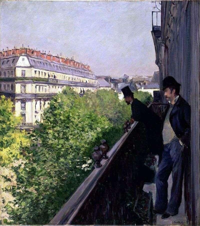 Balkon   Gustave Cybott
