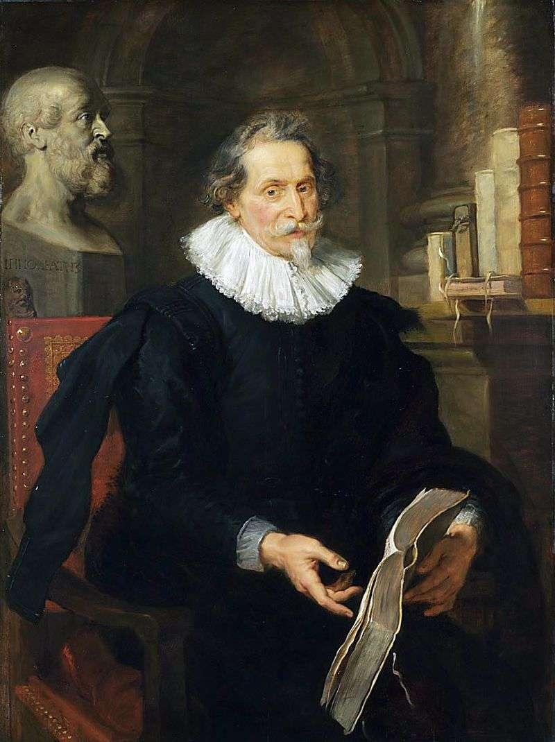 Portret Louisa Nunesa (Nonnius)   Petera Rubensa