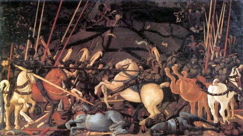 Bitwa pod San Romano   Paolo Uccello