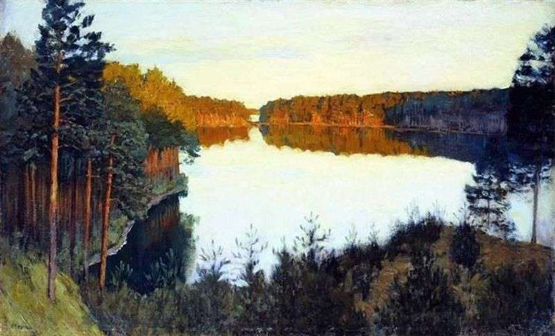 Forest Lake   Isaac Levitan