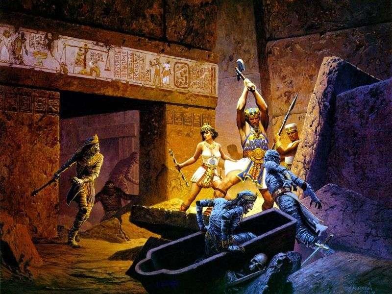 Strażnik faraona   Keith Parkinson